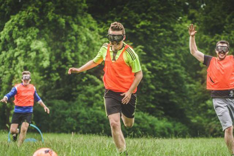 Beer goggle football in newcastle