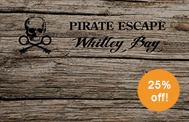 Escape room experience offer